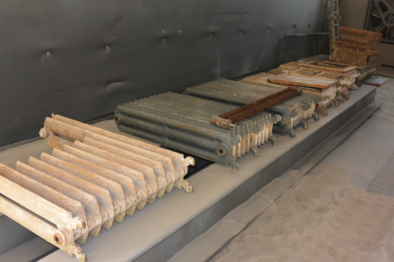 Costo Verniciatura Termosifoni Ghisa sabbiatura e verniciatura radiatori | sabbiature brunelli